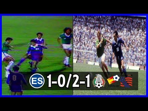 El Salvador vs Mexico : Eliminatoria / WCQ 1982 + 1994