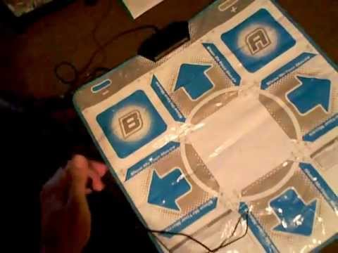 How To Connect The Wii Dance Dance Revolution Dance Mat To