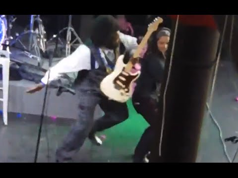 Afroman Punches Girl on Stage at Concert