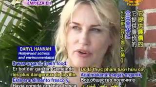 Vegan Eco-Warrior Daryl Hannah: Ambassador for ALL Earthlings!
