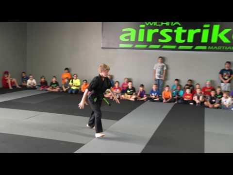 Zach Thomas Team AKA - Wichita Airstrike Extreme Martial Arts - Demonstration