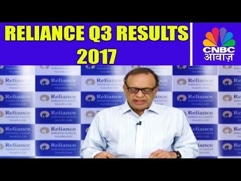 Reliance Q3 Results 2017 | Profit Increases 25% | CNBC Awaaz