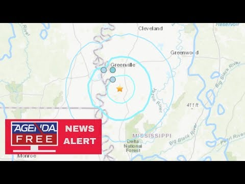 3.7 Earthquake in Mississippi - LIVE COVERAGE