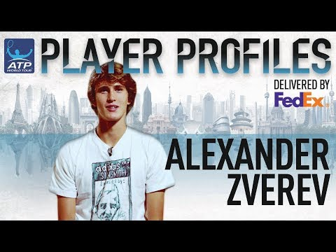 Sascha Zverev FedEx ATP Player Profile 2017