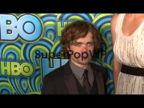 Peter Dinklage with wife Erica Schmidt at HBO's Post 65th Primetim