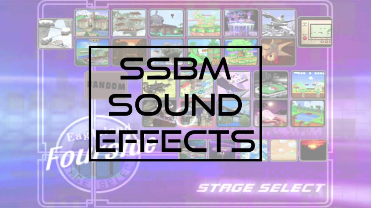 Super Smash Bros  Melee Sound Effects + Download Link