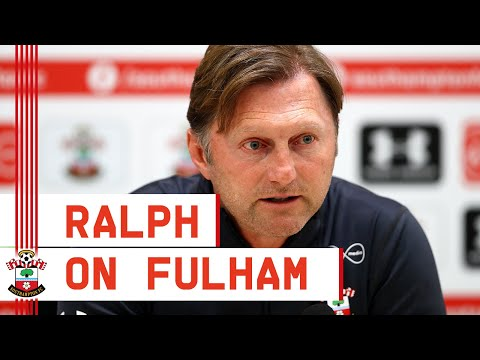 PRESS CONFERENCE | Ralph Hasenhüttl meets the media ahead of crucial Fulham tie