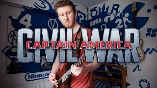 Captain America: Civil War Theme on Guitar