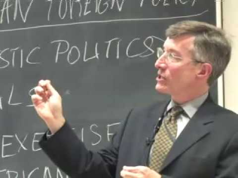 "Stephen Sestanovich, ""American Foreign Policy in Historical Perspective"""