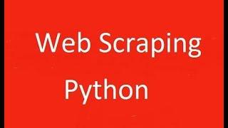 Создание скрапера на Python