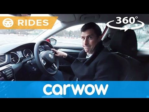Skoda Superb Estate 2017 360 degree test drive | Passenger Rides