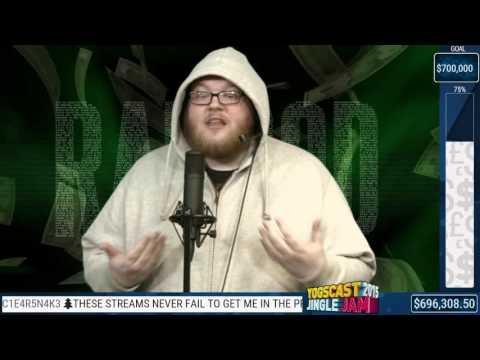 Yogscast Rythian Raps live