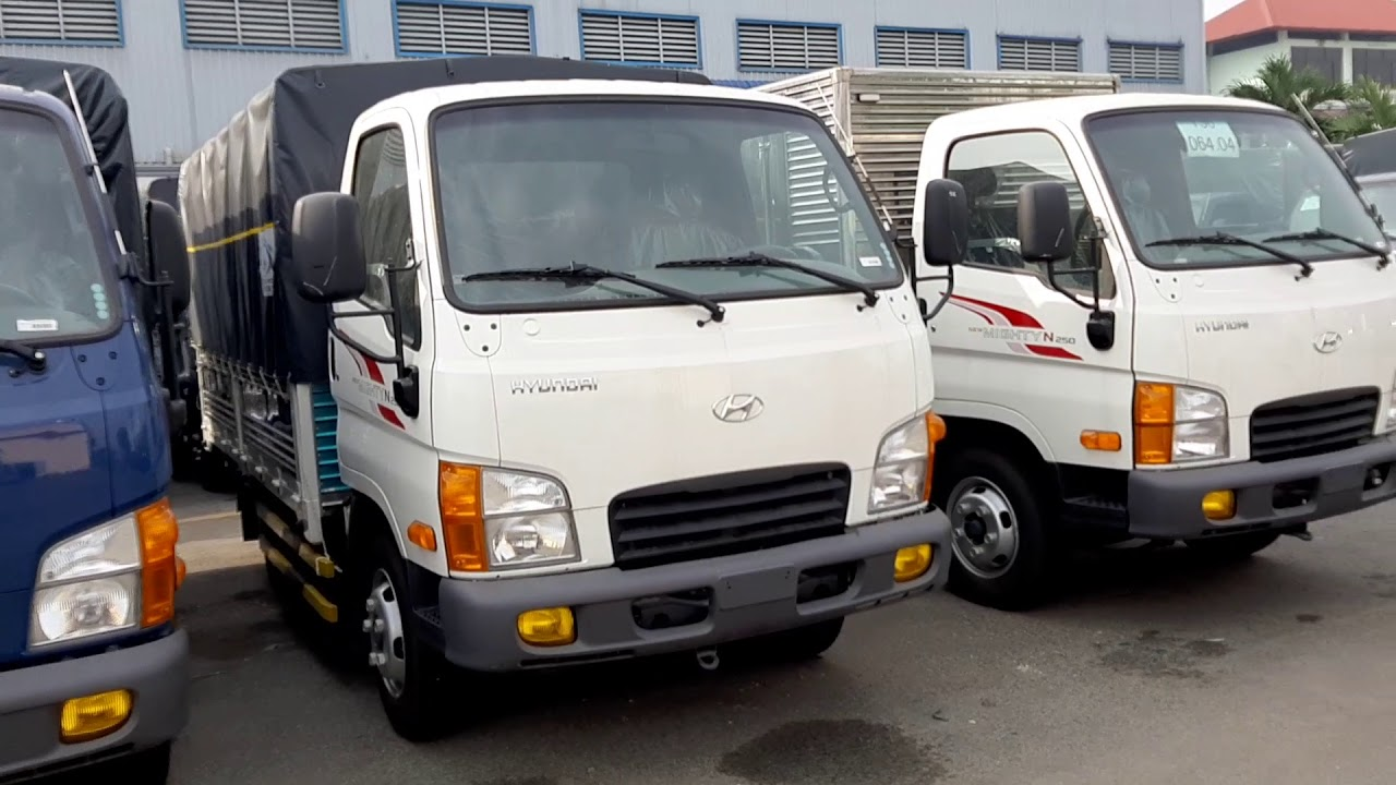 Báo Giá Xe Tải Hyundai N250 2.5 Tấn - Xe Tải Hyundai Mighty N250 2.5 Tấn Trả Góp