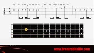 Guitar Tab   Easy Guitar   Avicii  Wake Me Up   How to Play