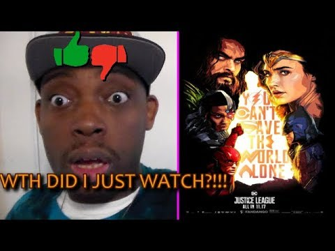 "Thumbnail: JUSTICE LEAGUE Movie Review ""WTH DID I JUST WATCH?!!!"""