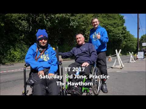 Isle Of Man TT 2017, Saturday Practice, The Hawthorn