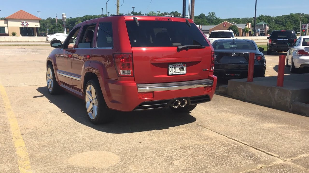Superb 2006 Jeep Grand Cherokee SRT8 With Solo Performance Exhaust