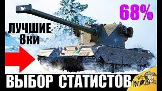 👍ЛУЧШИЕ ТАНКИ 8 УРОВНЯ! НОВЫЕ ИМБЫ в WoT! ВЫБОР СТАТИСТОВ World of Tanks!