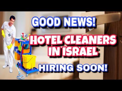 ISRAEL MANGANGAILANGAN NG HOTEL CLEANERS SOON | TRABAHO SA ISRAEL