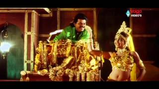 Meena Meena Song - Venkatesh Songs - Sahasa Veerudu Sagara Kanya Movie Songs - Venkatesh