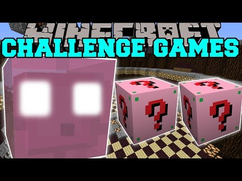 Minecraft: JELLY QUEEN CHALLENGE GAMES - Lucky Block Mod - Modded Mini-Game