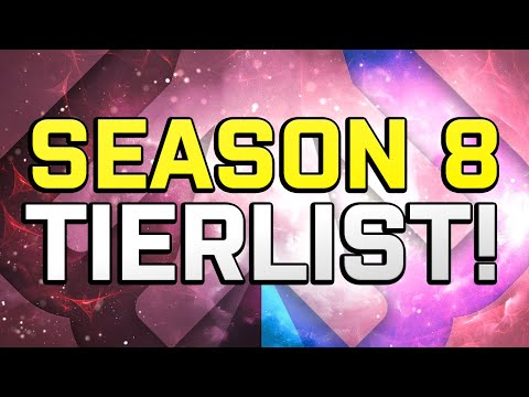 Smite TIER LIST: What YOU Should Be Playing For Season 8!