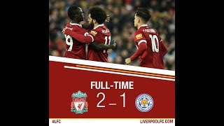 Download Video Liverpool vs Leicester 2 1   All Goals & Highlights 30 12 2017 HD MP3 3GP MP4