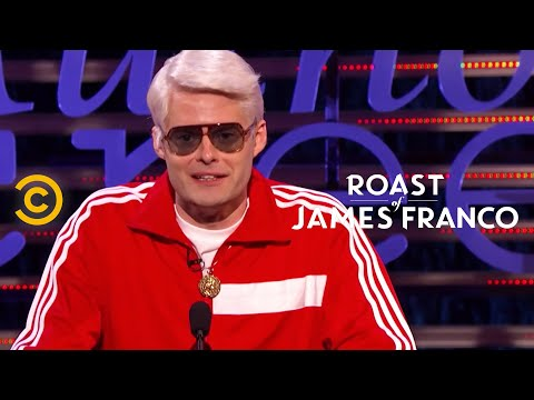 Roast of James Franco - Bill Hader - The President of Hollywood - Uncensored