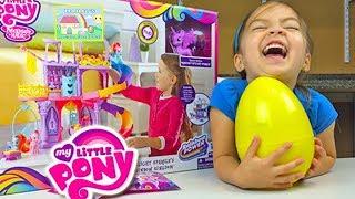 My Little Pony Kingdom Castle Princess Twilight Sparkle Toy! My Little Pony Toys