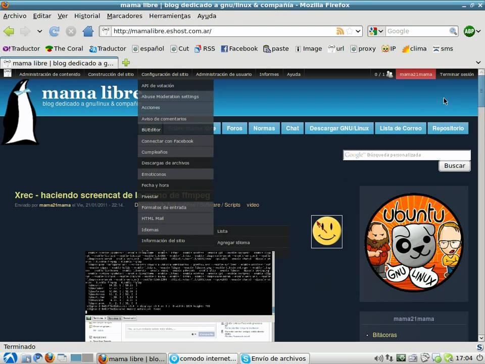xrec 2 0 - crea screencast con ffmpeg