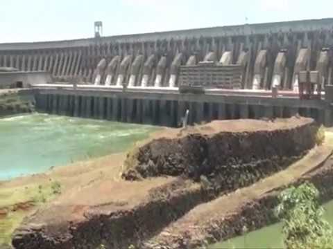 Itaipu - The world's largest hydroelectric power generation capacity in annual