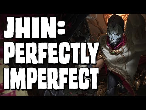 JHIN: Perfectly Imperfect || Character design analysis