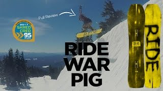 Ride War Pig Snowboard Review - Board Insiders - 2017 Ride Snowboards Warpig Review