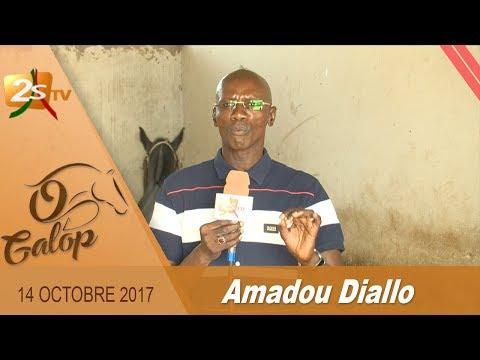 O GALOP DU 14 OCTOBRE 2017 AVEC AMADOU DIALLO