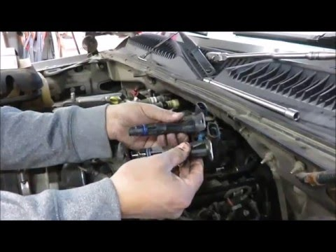 How to replace a cam position sensor on a Yukon or Suburban - YouTube
