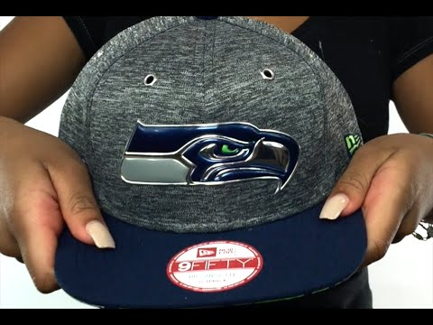 Seahawks  2016 NFL DRAFT SNAPBACK  Hat by New Era - YouTube 411166a9fe2