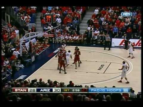 2009/2010 Arizona Wildcats Basketball vs Stanford