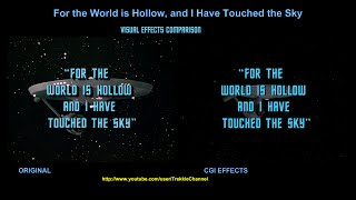 Star Trek - For The World Is Hollow And I Have Touched The Sky - visual effects comparison