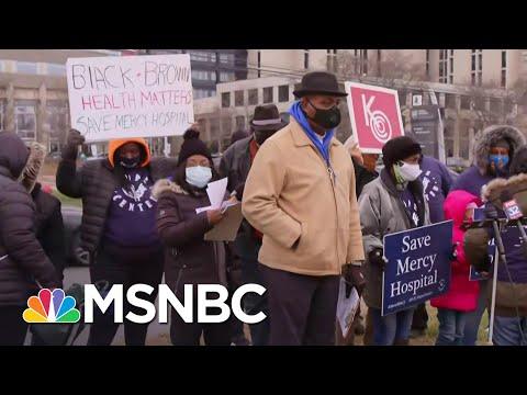 Chicago Resident On Mercy Hospital Closure   Craig Melvin   MSNBC