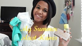 My Summer Favorites 2014 Thumbnail
