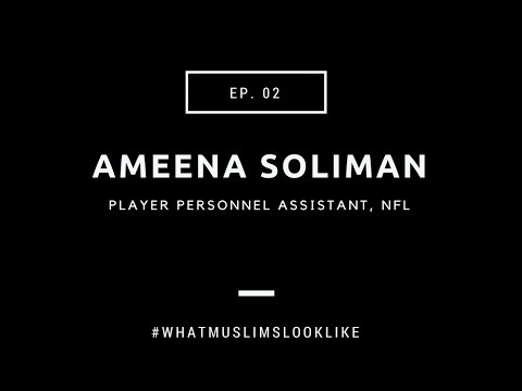 NFL personnel assistant ameena soliman discusses faith, football and #freemeekmill | EP 2