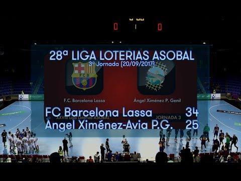 3ªJ Asobal | FC Barcelona - Ángel Ximénez (34-25)
