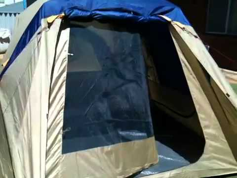 Jackeroo 10 person dome tent review - YouTube
