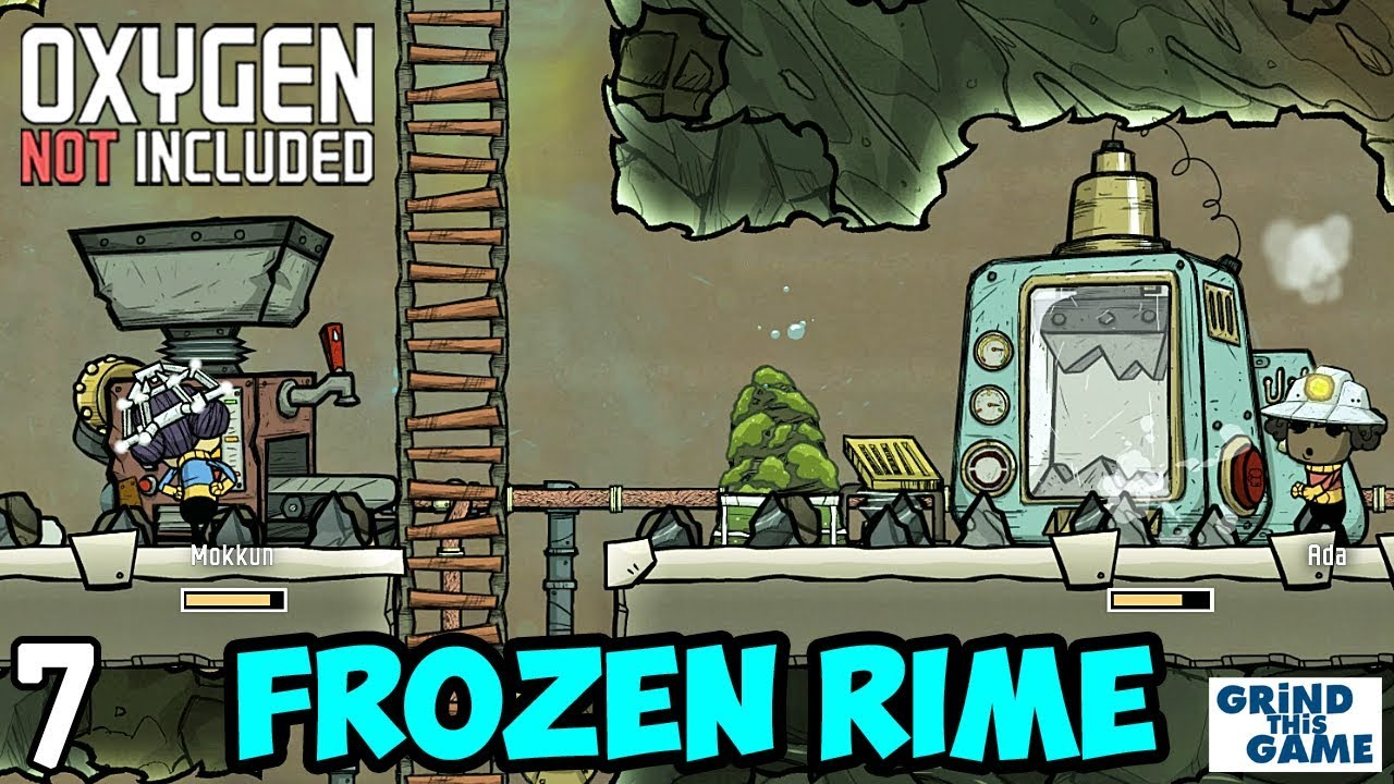 Metal Refine on RIME #7- Oxygen Not Included (Launch Upgrade) [4k]