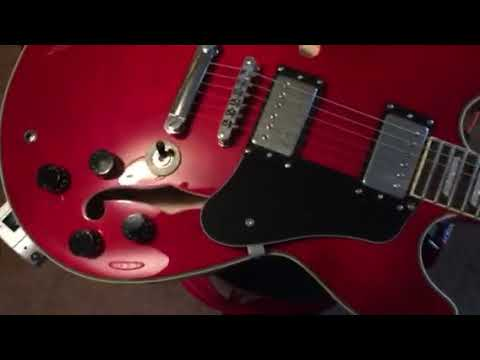 firefly chinese gibson type semi hollow body guitar youtube. Black Bedroom Furniture Sets. Home Design Ideas