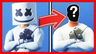 UNMASKING 10 SKINS WITH MOUNTAIN IN FORTNITE!
