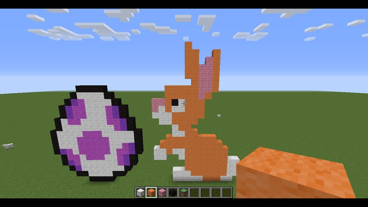 Minecraft easter special easter egg and easter bunny youtube ccuart Images