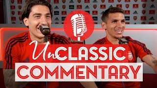 Hilarious! | Bellerin & Torreira | UnClassic Commentary | Arsenal 1 - 0 Huddersfield Town