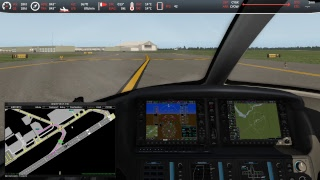 Live Stream of X-Plane 11 Air Traffic Control (ATC)