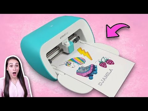 Download ZELF STICKERS MAKEN MET DIT TOFFE APPARAAT! - Printen En Knippen Met Cricut -DIY